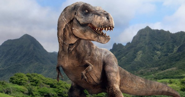This is a D-rex. It's a genetically modified T-rex, because those guys are wimpy.